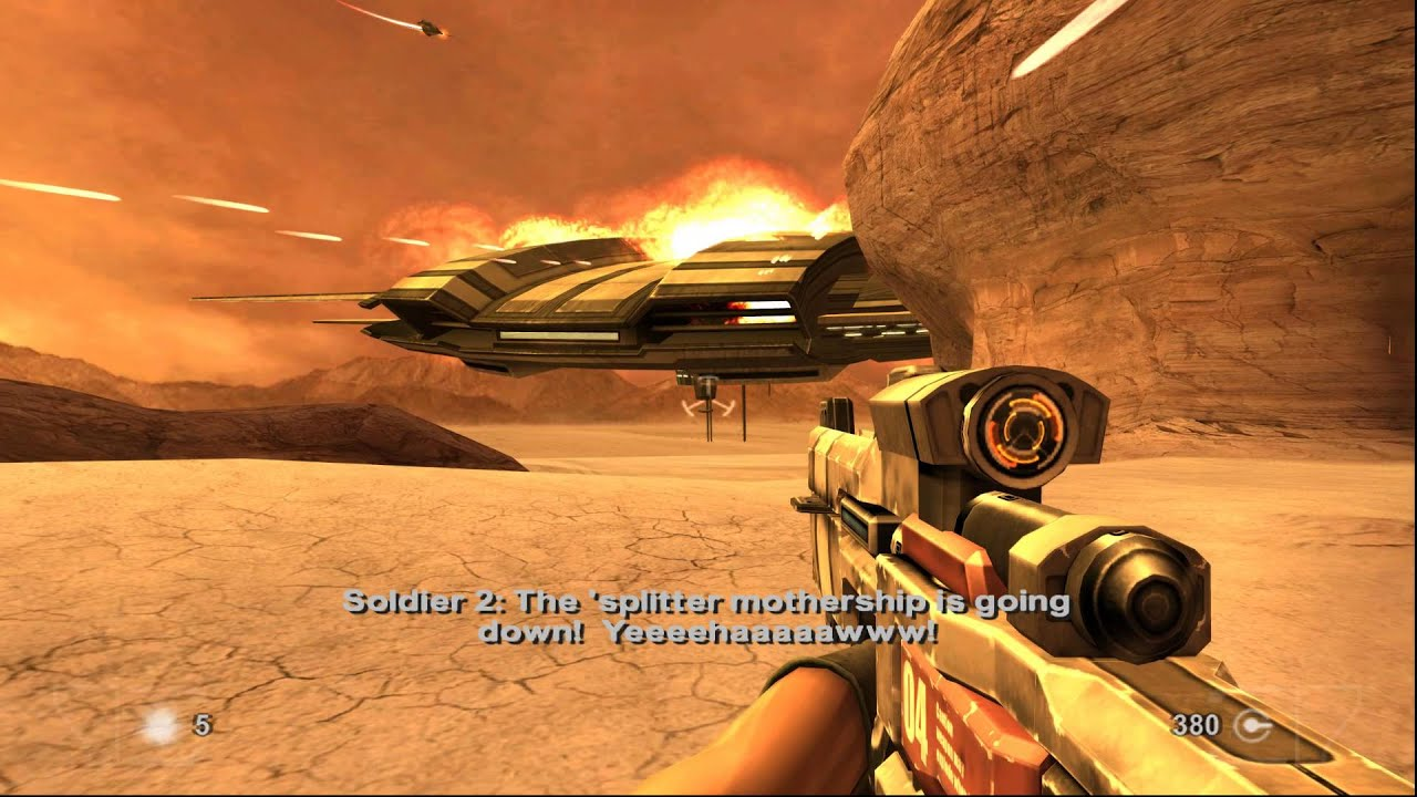 1080p 60fps Time Splitters Future Perfect Story
