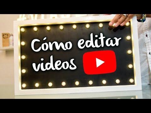 Cómo editar videos para Youtube y hacer una intro para tu canal | Nivel Principiante
