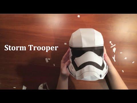 Stormtrooper Paper Helmet