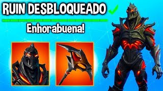 SKIN LEGENDARY DISCOVERY REVEALED! HOW TO UNLOCK THE SKIN RUIN? Fortnite