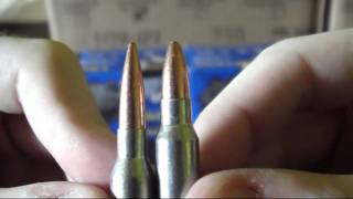 What is the difference between 5.45 x 39 and .223?