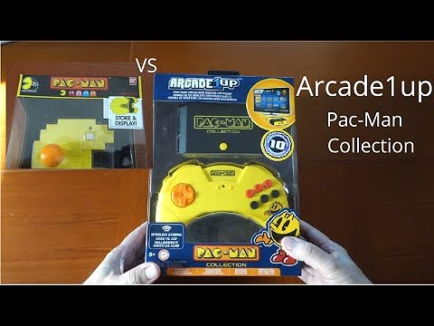 Arcade1up Pac-Man Collection Review!   Gray Defender from GRay Defender