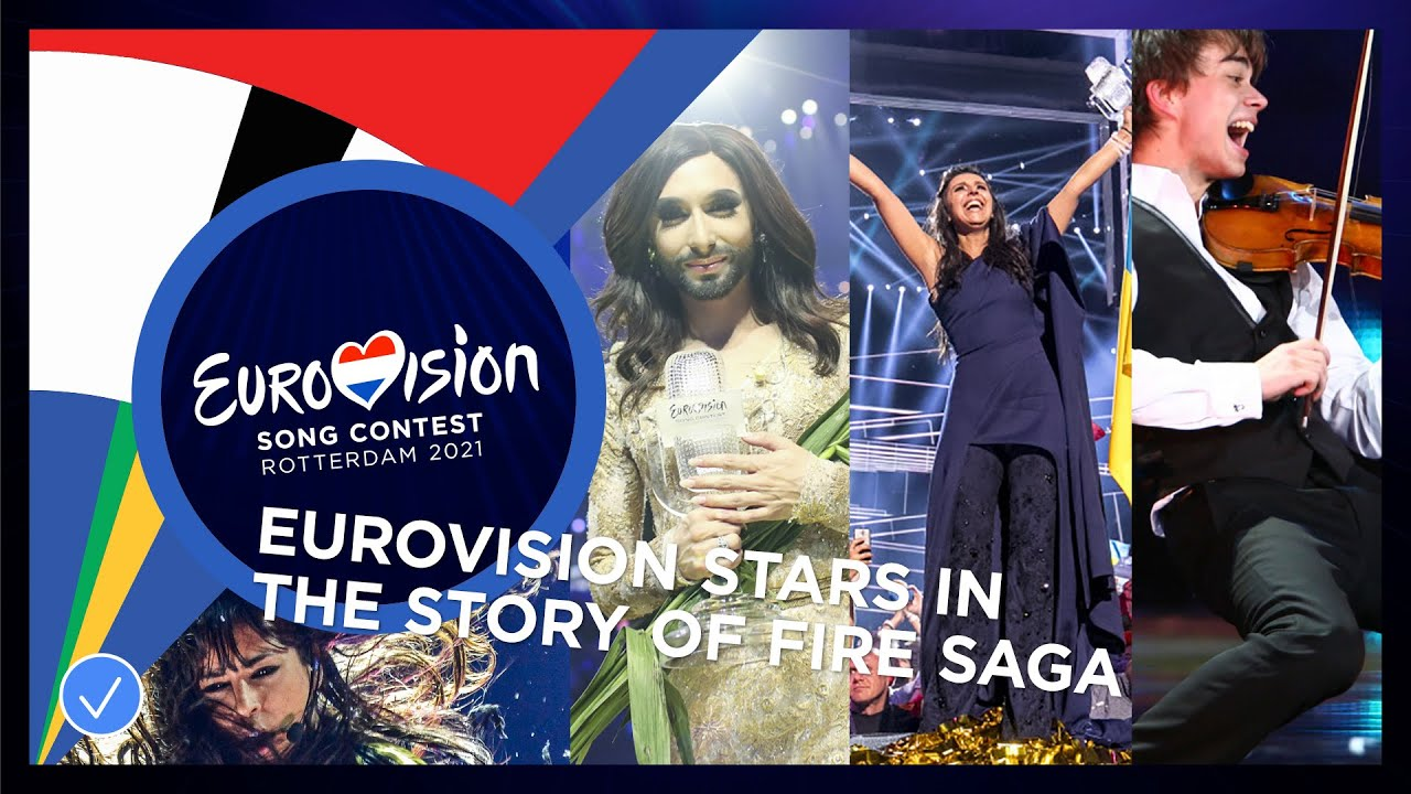 All the Eurovision Song Contest stars in 'The story of Fire Saga'