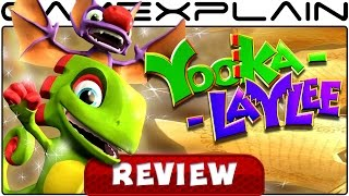 Yooka-Laylee - REVIEW (Xbox One) (Video Game Video Review)