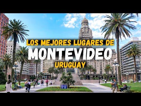 QUÉ VER EN MONTEVIDEO?, RECORRIDO POR LA CIUDAD | URUGUAY | 4K |