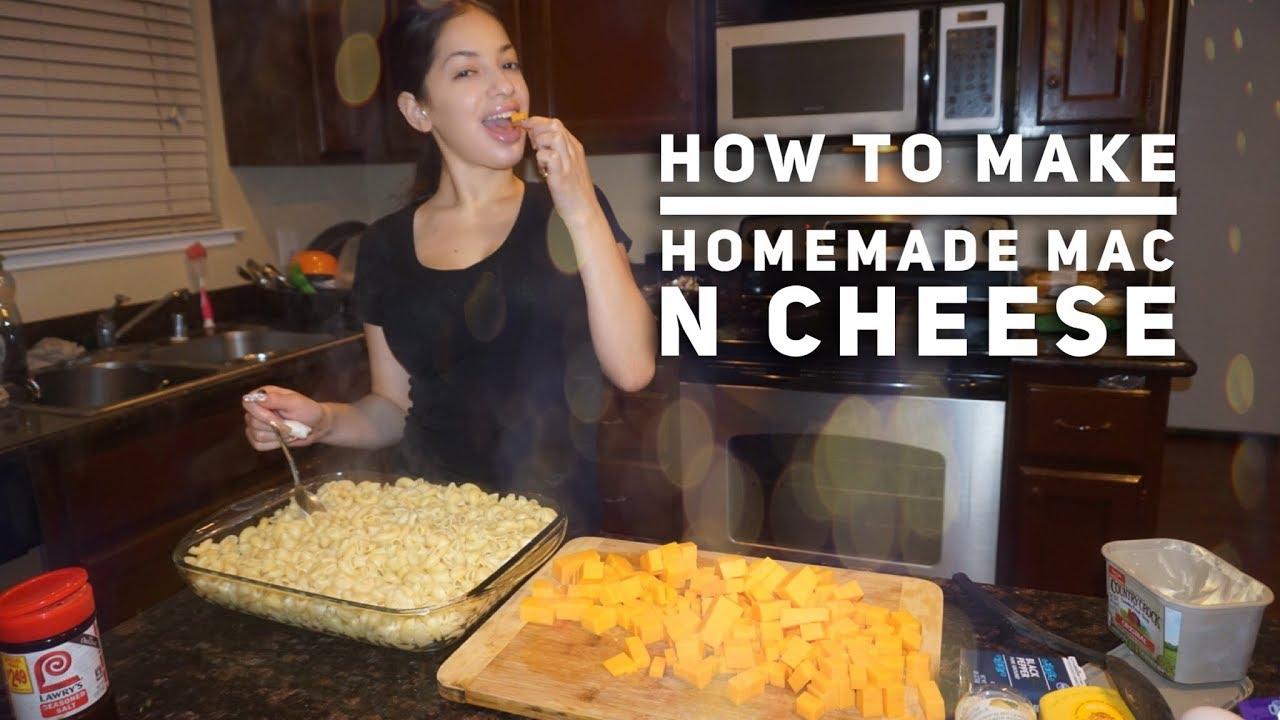 how to make homemade mac n cheese