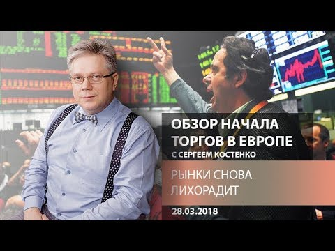 Аналитика рынка Форекс: Рынки снова лихорадит - Обзор открытия европейской сессии