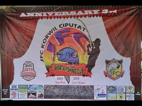 """3rd ANNIVERSARY,  """" JAKARTA FISHING CLUB '' KORWIL CIPUTAT"""