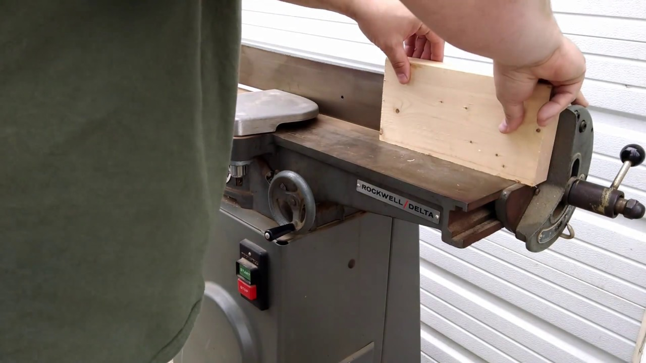 40 Year Old Rockwell Delta  Inch Deluxe Jointer