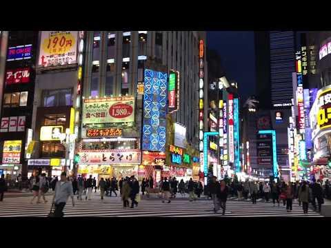 Tokyo Night Stroll through Kabukicho, Shinjuku
