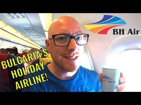 BH Air: Bulgaria's Holiday Airline! (BH Air Review)
