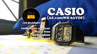 casio ae 1300wh 8avdf techie series unboxing