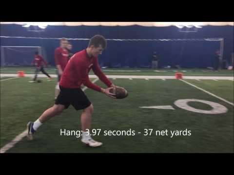Hunter Dustman | C/O 2020 Freshman | Kicker Punter | STFA TJK NSC Camp 2017