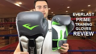 Everlast Prime Boxing Gloves Review 16oz by ratethisgear