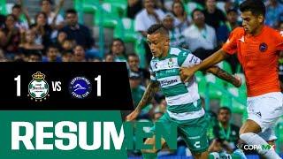 embeded bvideo Resumen | Santos Laguna 1 - 1 Correcaminos UAT | Copa MX - Apertura 2019  - Jornada 1