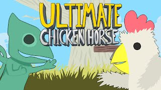Ultimate Chicken Horse - ПЕРС ХАМЕЛЕОН