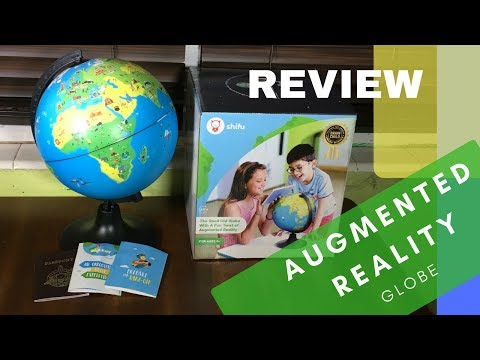 Augmented Reality Globe Review, Shifu Orboot Review, and Unboxing video