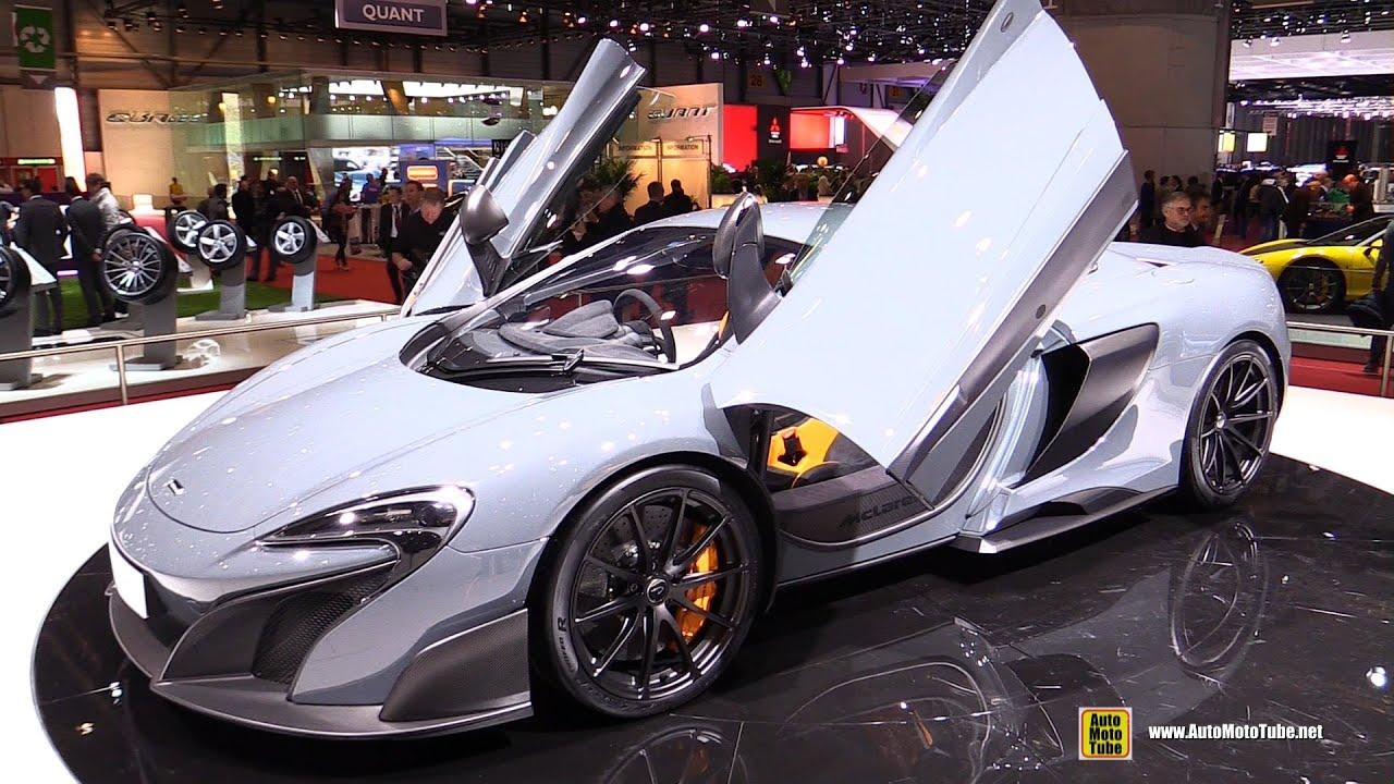 2016 McLaren 675LT - Exterior and Interior Walkaround - 2015 Geneva ...