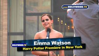 Harry Potter premieres in New York - HollywoodTV
