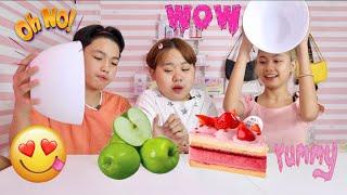 MYSTERY PINK VS. GREEN FOOD(LOVE TEAM EDITION)  SAMMY MANESE  