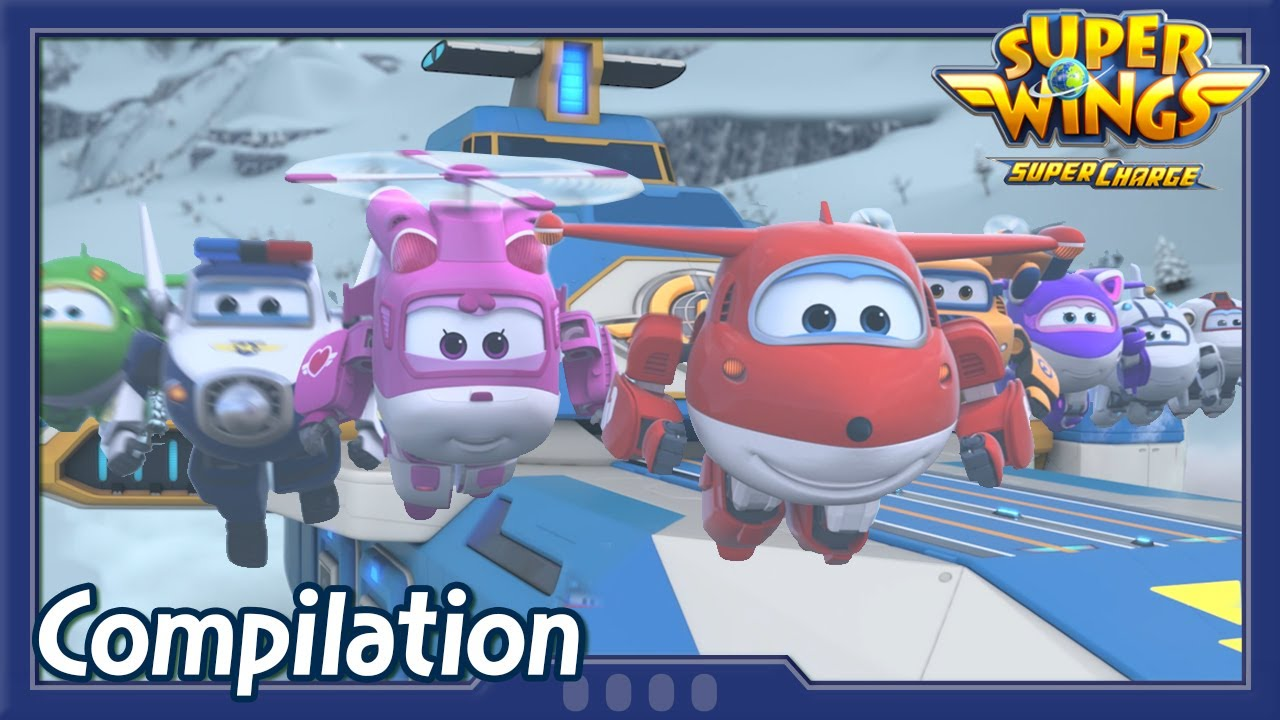 [Superwings s4 Compilation] EP19 ~ EP21 | Super wings Full Episodes