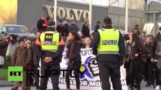 Sweden: Police stop antifa marching on Sweden Democrats