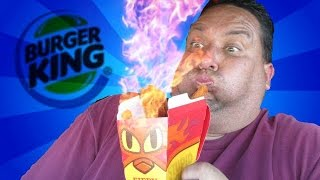 Burger King® | Fiery Chicken Fries REVIEW!