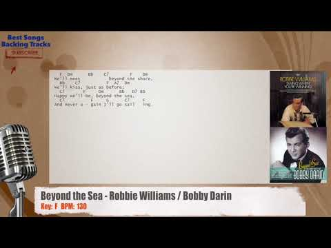 Beyond The Sea Robbie Williams Bobby Darin Vocal Backing Track