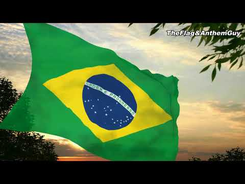 Flag and anthem of Brazil