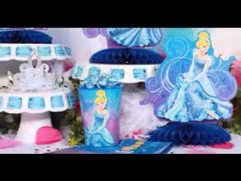 DIY Cinderella Birthday Party Decorating Ideas