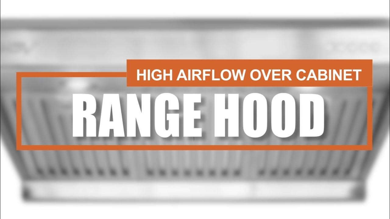 How To Adjust Range Hoods Fans Bv Rh 01 Youtube