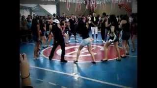 Dança 3º Colegial - Festa Santa Lúcia Filippini 2012