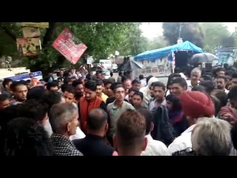 Rajouri residents protest against alleged murder of youth