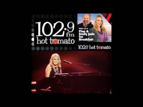 Sarah Browne - 102.9FM Hot Tomato Radio Interview with Flan & Emily-Jade