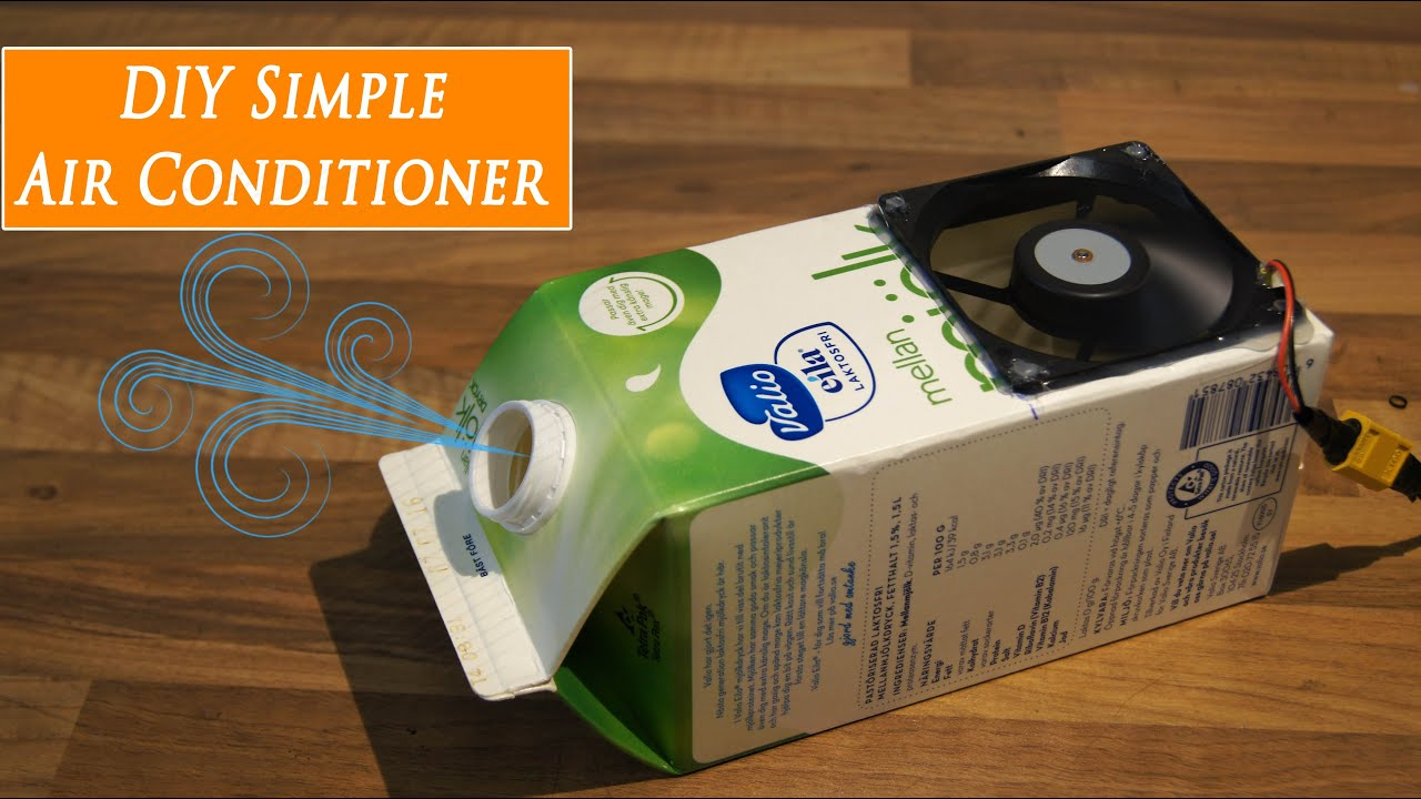Diy Airco Diy Cheap Homemade Air Conditioner Quick Build Rclifeon