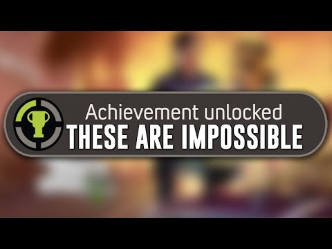 10 HARDEST Video Game ACHIEVEMENTS That Are Nearly IMPOSSIBLE To Complete!