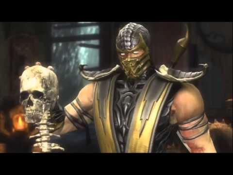 Игрофильм. Mortal Kombat (2011). 1 серия.