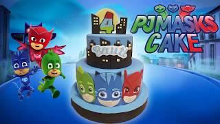 PASTEL HÉROES EN PIJAMAS Paso a Paso 💥| How To Make PJ MASKS Cake!
