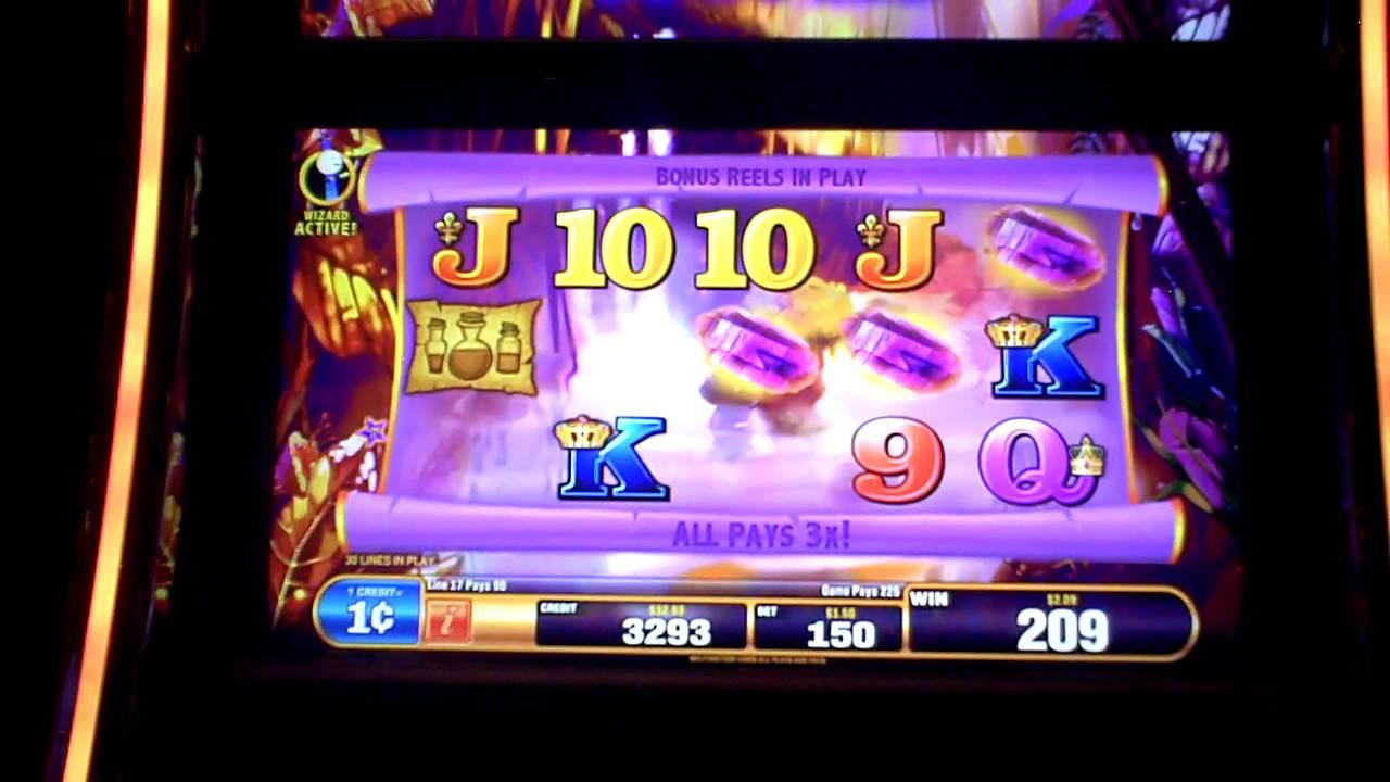 sands online casino wizards win