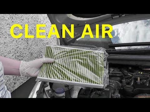 How to Change the Cabin Pollen Filter on your 2007 Citroën C4 1.6 HDi