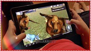 БЫК СИМУЛИРУЕТ КОЗЛА !) 📱 Bull Simulator 3D - Android  Мои игры на планшете Обзор по вашим заявкам