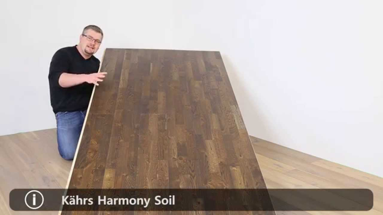k hrs parkett landhausdiele eiche harmony soil youtube. Black Bedroom Furniture Sets. Home Design Ideas