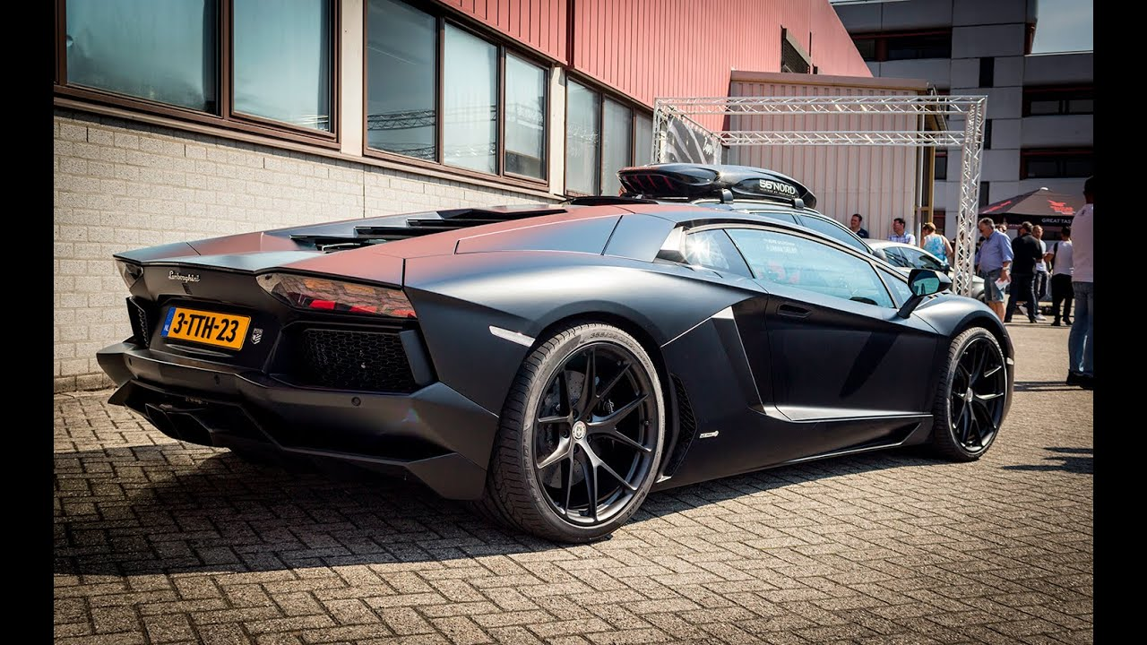 3x aventador with akrapovic exhaust cars coffee. Black Bedroom Furniture Sets. Home Design Ideas