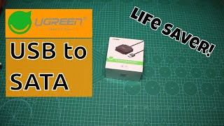 UGREEN USB to SATA Adapter - Life Saver