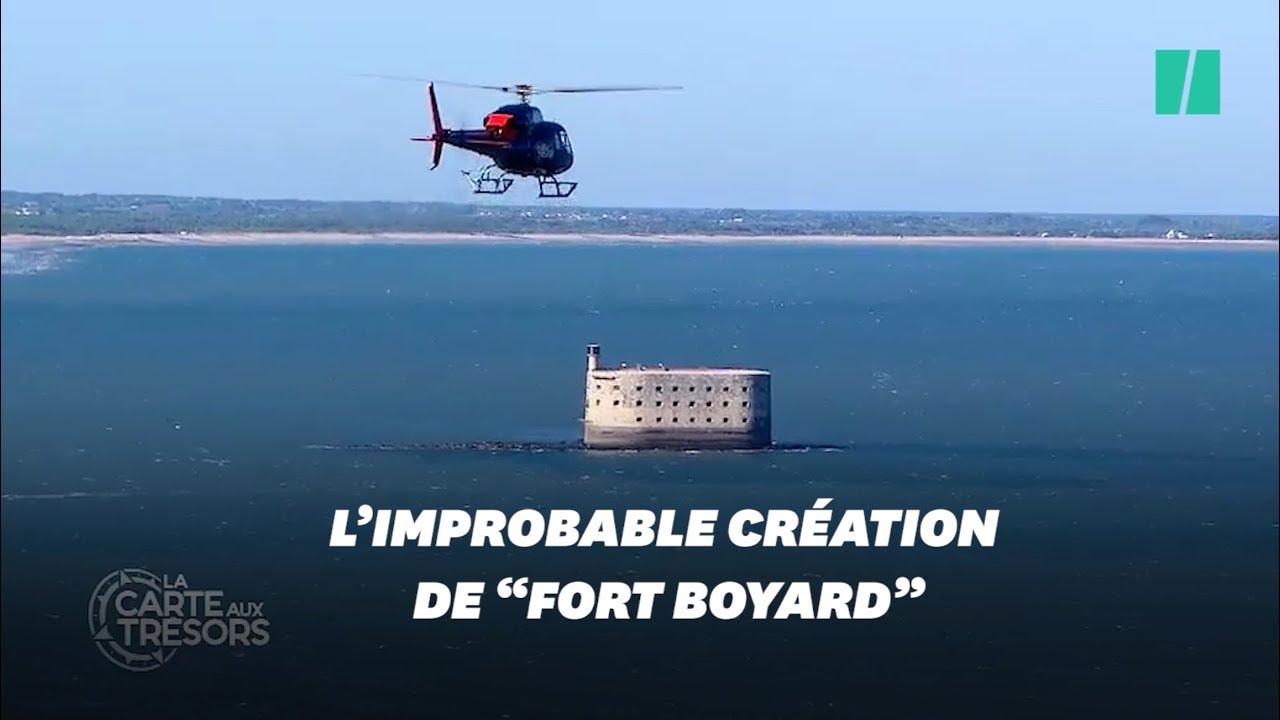 Carte Au Tresor Fort Boyard.Sans La Carte Aux Tresors Fort Boyard N Aurait Jamais Vu Le Jour