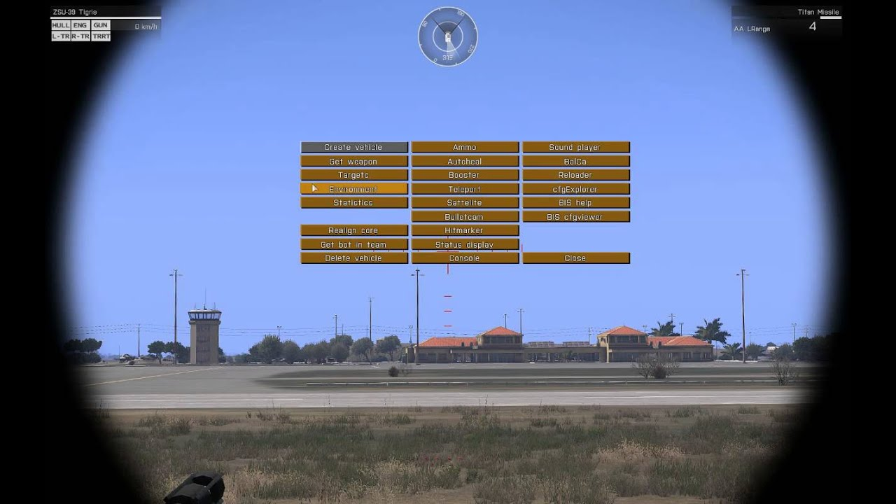 arma3 Target Lock depends on the view distance