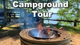 Indian Lake Campground, Michigan, Nęar Kitch-iti-kipy
