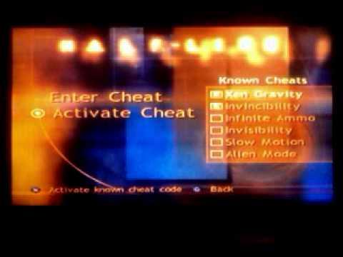 Trucos del Half Life Playstation 2