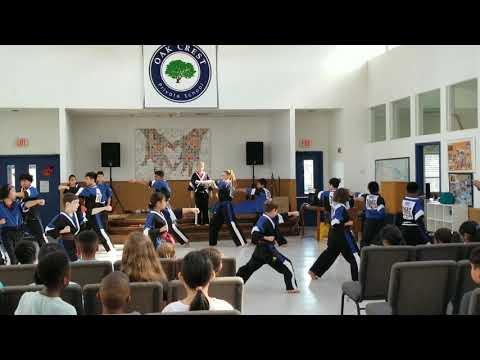 Krrish Demo Performance at Oak Crest Private School