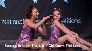 DANCE MOMS BEST AND WORST DUETS (ALDC ONLY)